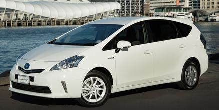 Toyota Prius v Hybrid 7 Seat Wagon 1.8L ECVT